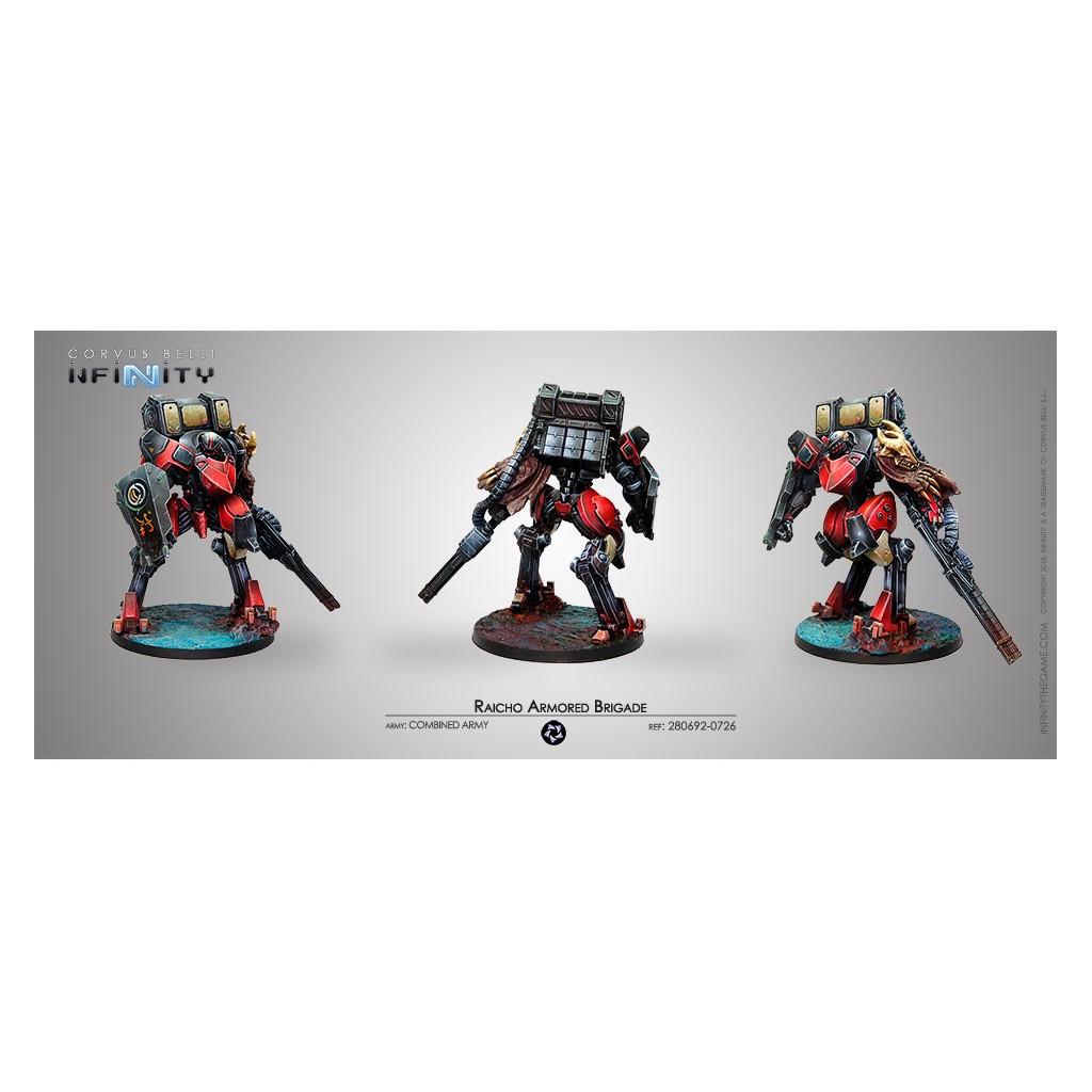 Infinity - Armée Combinée - Raicho Armored Brigade