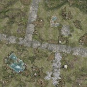 Playmats - Mousepad - Treasure Island - 36''x36''