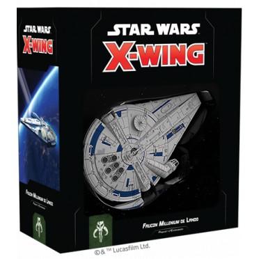 X-Wing - Le Jeu de Figurines - Faucon Millenium de Lando