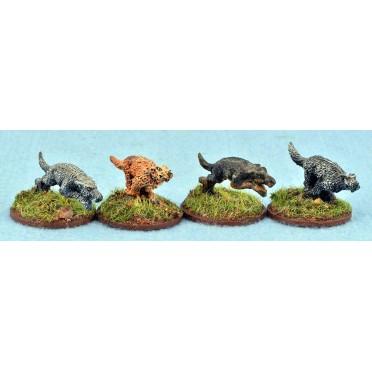 Saga - Civils et bétails - Chiens de chasse