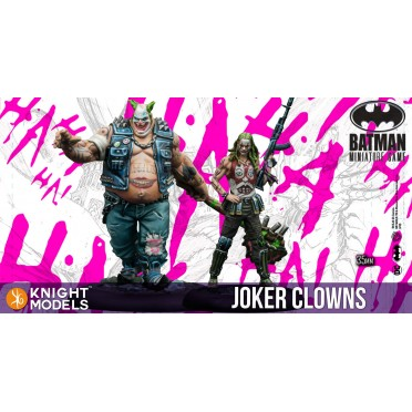 Buy Batman -Joker Clowns - Board Game - Knight Models