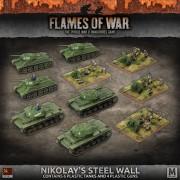 Flames of War - Nikolay's Steel Wall Soviet Army Deal