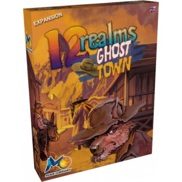 Buy 12 Realms - Ghost Town - Board Game - Mage Company