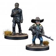 The Walking Dead : AOW - Carl Grimes & Father Gabriel Booste