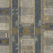 Playmats - Latex- Tapis recto/verso : Infinity 1/Infinity 2 - 48''x48''