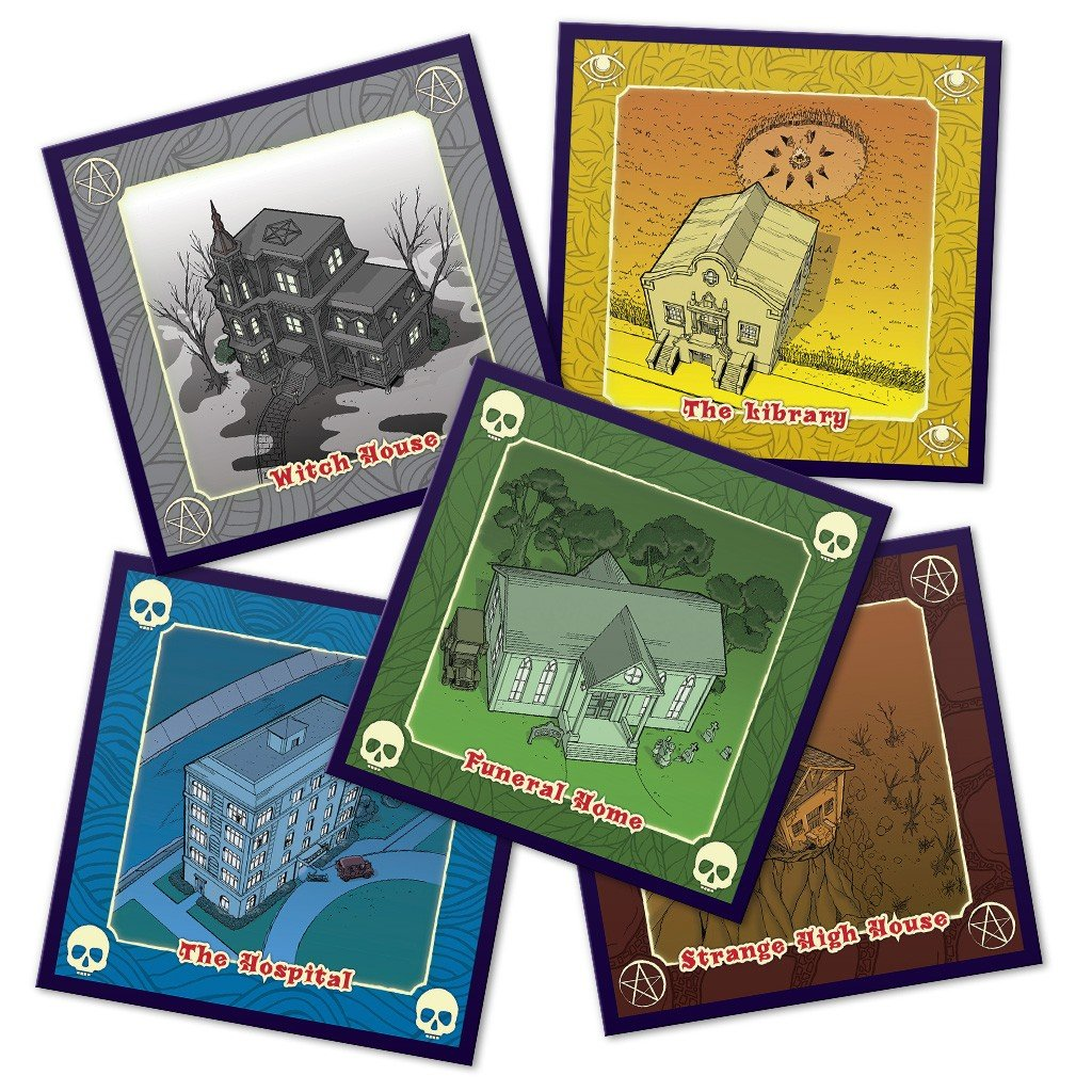 A'Writhe: A Game of Eldritch Contortions | Board Games ...