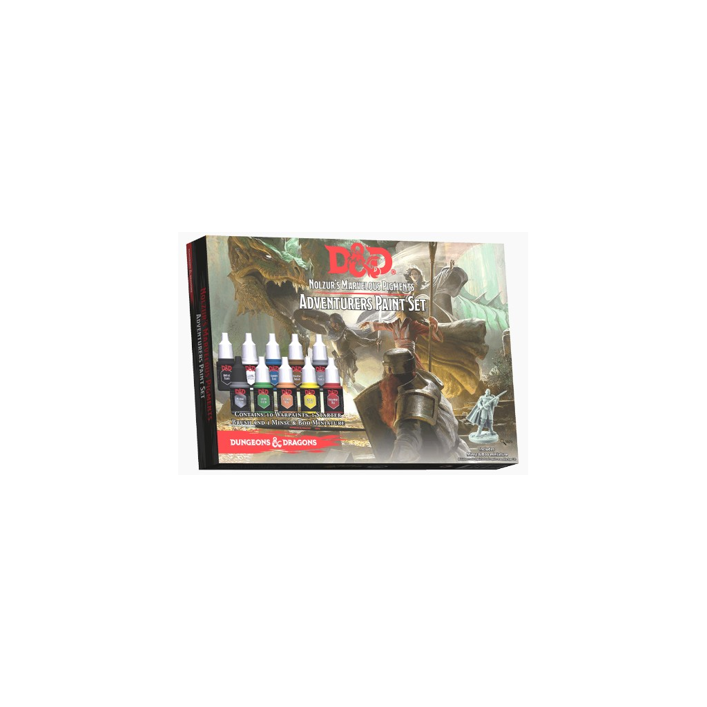 Dungeons Amp Dragons Adventurers Paint Set Boutique