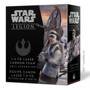 Star Wars : Légion - Équipe Canon Laser 1.4 FD