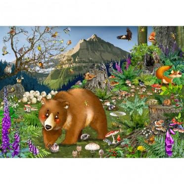 Puzzle - En Montagne - 100 pièces