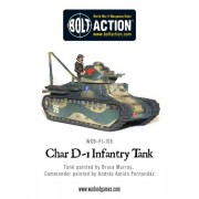 Bolt Action - French - D-1 Infantry Tank