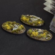 Highland Bases, Oval 75mm (x3)