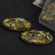 Highland Bases, Oval 90mm (x2)