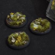 Highland Bases, Round Lip 50mm (x3)