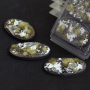 Winter Bases, Oval 75mm (x3)