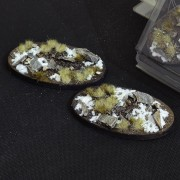 Winter Bases, Oval 90mm (x2)