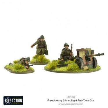 Bolt Action - French -25mm Light Anti-Tank Gun