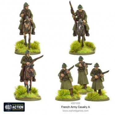 Bolt Action - French - Cavalry A