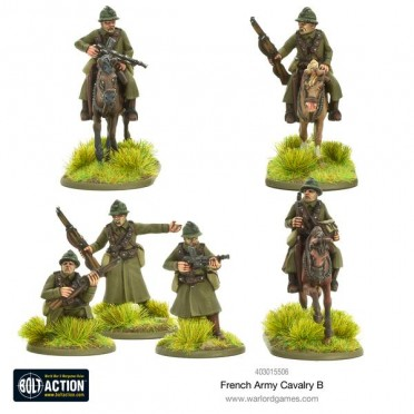 Bolt Action - French - Cavalry B