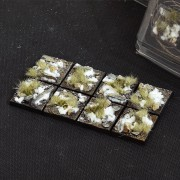 Winter Bases, Square 25mm (x8)