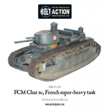 Bolt Action - French - FCM Char 2c super-heavy tank