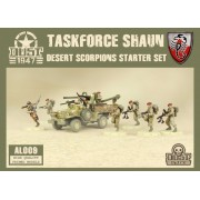 Dust - Desert Scorpions Starter Set - Taskforce Shaun