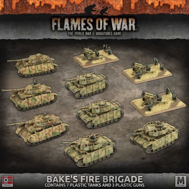 Flames Of War Bkes Fire Brigade Boutique Philibert En