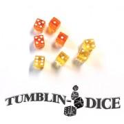Tumblin Dice Medium - Orange Yellow Dice