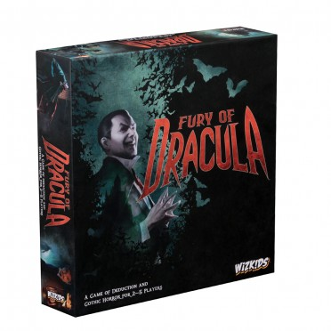 Buy Fury Of Dracula 4th Edition Boardgame Wizkids