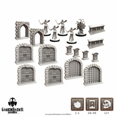 Folklore - Terrain Miniatures Pack 2nd Edition