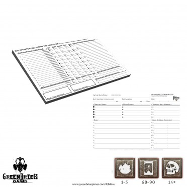 Folklore - Encounter Record Pads