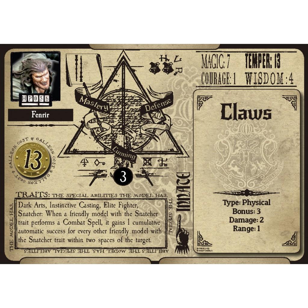 Buy Harry Potter, Miniatures Adventure Game: Fenrir Greyback - Board