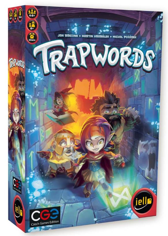 Buy Trapwords - Board Game - Iello