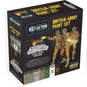 Bolt Action: British Army Paint Set