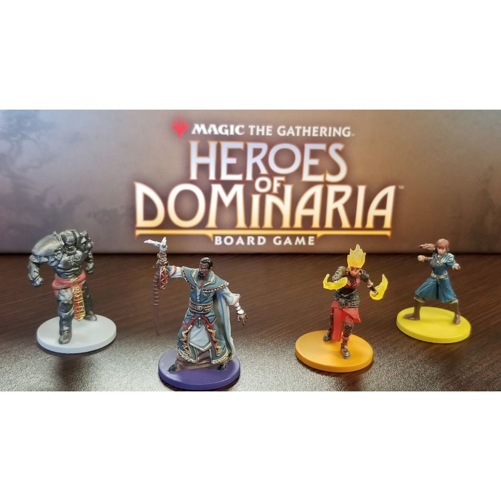 Englisch Magic The Gathering Heroes of Dominaria Board Game Premium Edition