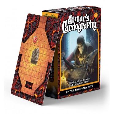 Atmar's Cardography - Enter the Fiery Pits