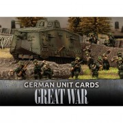 Flames Of War - Great War - German Unit Cards