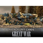 Flames Of War - Great War - French Unit Cards