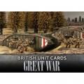 Flames Of War - Great War - British Unit Cards 0