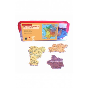 Map Of France New Regions.Puzzle Map Of France Regions 24 Pieces