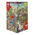 Puzzle - History River - 1500 Pièces 0