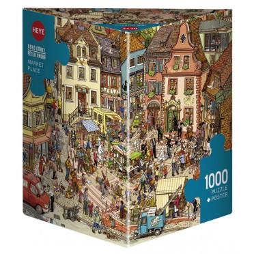 Puzzle - Market Place - 1000 Pièces