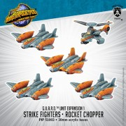 Monsterpocalypse - Protector - Strike Fighters & Rocket Chopper