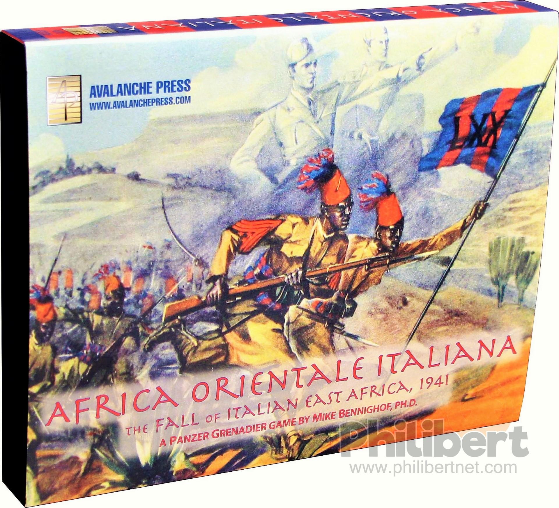 Panzer Grenadier - Africa Orientale Italiana