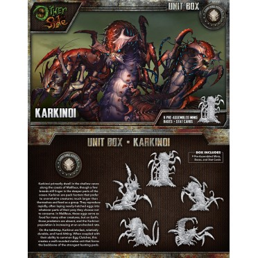 The Other Side - Gibbering Hordes Unit Box - Karkinoi