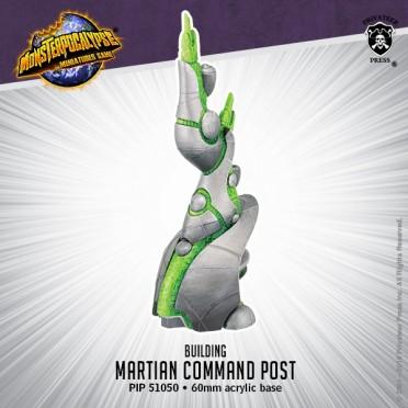 Monsterpocalypse - Buildings - Martian Command Post