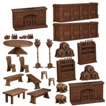 Terrain Crate : La Taverne
