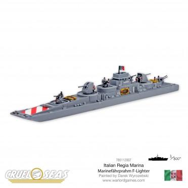 Cruel Seas: Italian - Marinefahrprahm F- Lighter