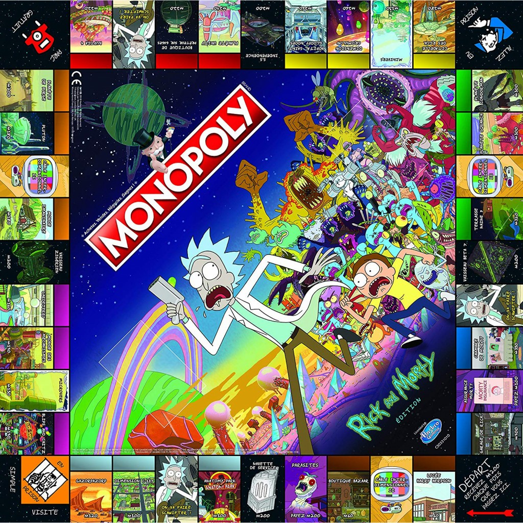 Buy Monopoly Rick and Morty - Board Game - Winning Moves