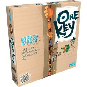 acheter one key - jeu de société - libellud