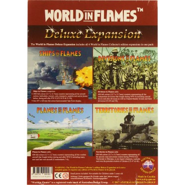World in Flames Collector's Edition : Deluxe Expansion Set